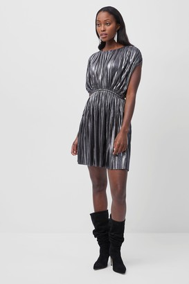 French Connection Yasmine Pleated Jersey Dress