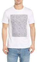 Ben Sherman Men's Pin Dot Target Graphic T-Shirt
