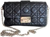 Christian Dior Miss leather clutch bag