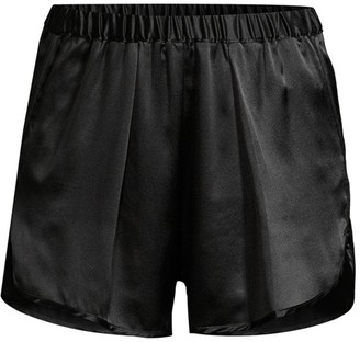 Maison du Soir Fierenze Satin Shorts