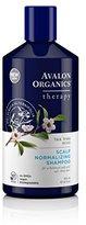 Avalon Tea Tree Mint Scalp Normalizing Shampoo, 14 Fluid Ounce