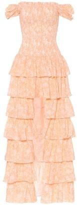 Caroline Constas Exclusive to Mytheresa a Malta off-shoulder cotton maxi dress