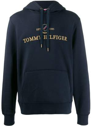 Tommy Hilfiger Icon logo embroidery hoodie