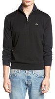 Lacoste Quarter Zip Sweater
