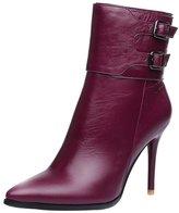 ELEHOT Womens Eleher 9.5CM high-heel Boots, Leather