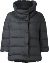 Eleventy three-quarter sleeve puffer jacket