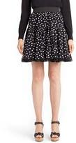 Dolce & Gabbana Women's Polka Dot Silk Skirt