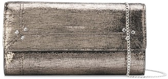 Jerome Dreyfuss Portefeuille metallized clutch bag