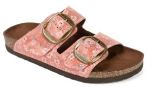 White Mountain Harlow Flat Sandals Women's Shoes