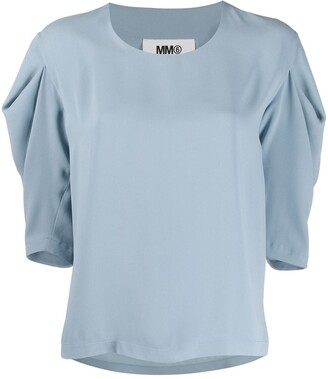 MM6 MAISON MARGIELA Puff Sleeve Top
