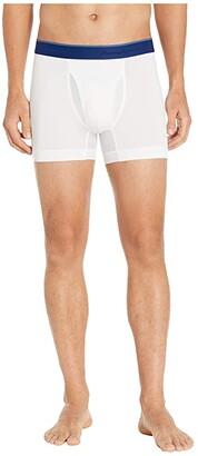 Tommy Bahama Mesh Tech Boxer Briefs (White) Men's Underwear