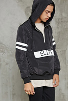 Forever 21 FOREVER 21+ Elite Graphic Windbreaker