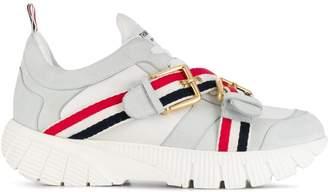 Thom Browne nubuck leather Raised Running shoes