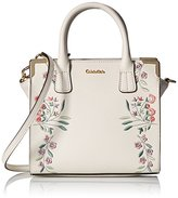 Calvin Klein Emma Embroidered Satchel