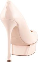Nicholas Kirkwood Patent Leather Platform Pump, Pink