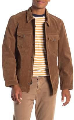 Levi's Faux Suede Shirt Jacket