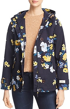 Joules Coast Print Raincoat