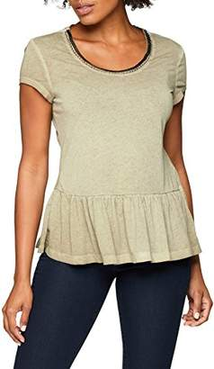 Gerry Weber Taifun Women's's T-Shirt 1/2 Arm Olive Green 50754
