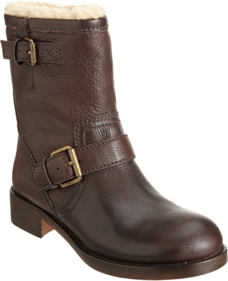 Marc by Marc Jacobs Shearling Lined Moto Ankle Boot