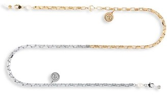 For Art's Sake L'attitude Luna 14K Goldtone & Silvertone Chain