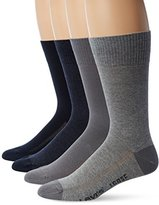 Levi's Men's 4 Pack 168 Series Solid Crew Socks