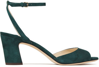 Jimmy Choo Miranda 65 Suede Sandals