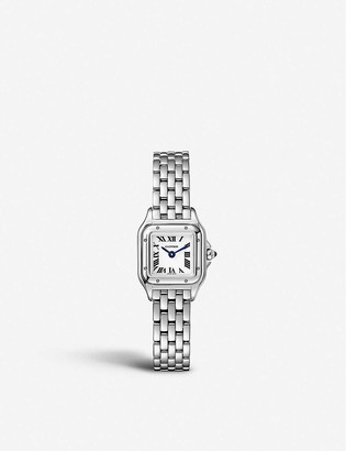 Cartier Panthere de mini steel watch