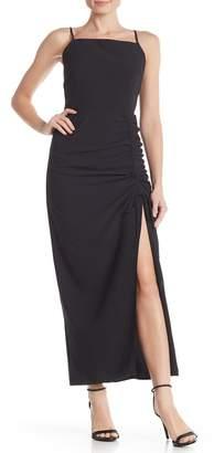Material Girl Drawstring Maxi Skirt