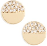 BP Women's Circle Stud Earrings
