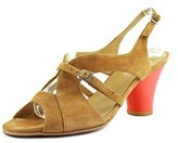 Audley 15697 Open-toe Leather Slingback Sandal.