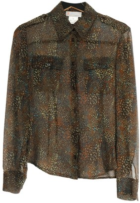 M Missoni Khaki Silk Top for Women