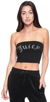 Juicy Couture Juicy Gothic Crystals Jersey Tube Top