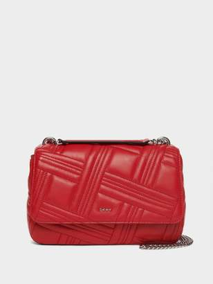 DKNY Allen Leather Shoulder Bag