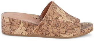 Gentle Souls Judith Cork Wedge Sandals
