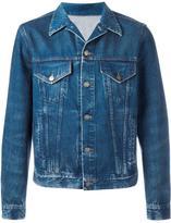 Gucci L'Aveugle Par Amour snake denim jacket - men - Cotton - 50