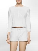 Calvin Klein Limited Edition Shrunken Sweatshirt