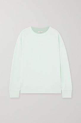 Vince Cotton-jersey Sweatshirt - Green