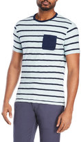 Alex Mill Stripe Patch Pocket Tee