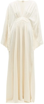 Johanna Ortiz I Want To Hold Your Hand Leopard-jacquard Dress - Ivory