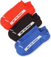 Diesel Men's Gost-Threepack-Only The Brave Casual Socks