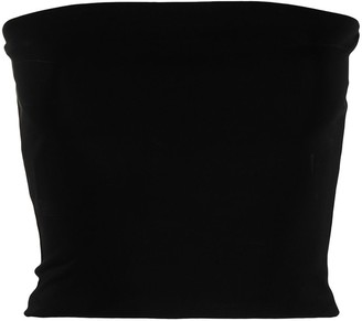 Andamane Strapless Cropped Top