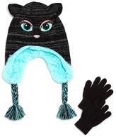 Capelli Girls' Love Meowlways Hat & Glove Set - Sizes S/M, M/L