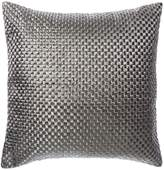 Linea Rosa Basketweave Cushion Charcoal