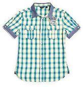 GUESS Short-Sleeve Check Shirt (7-16)