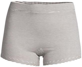 Maison du Soir Poppy Striped Sleep Shorts