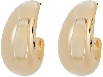Argentovivo Benita Crescent Hoop Earrings