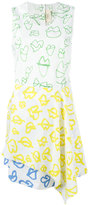 Ports 1961 lip print dress - women - Cotton - 38
