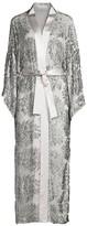Fleur Du Mal Embellished Kimono-Sleeve Robe