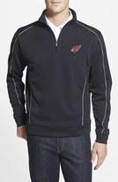 Cutter & Buck Men's Big & Tall 'Arizona Cardinals - Edge' Drytec Moisture Wicking Half Zip Pullover