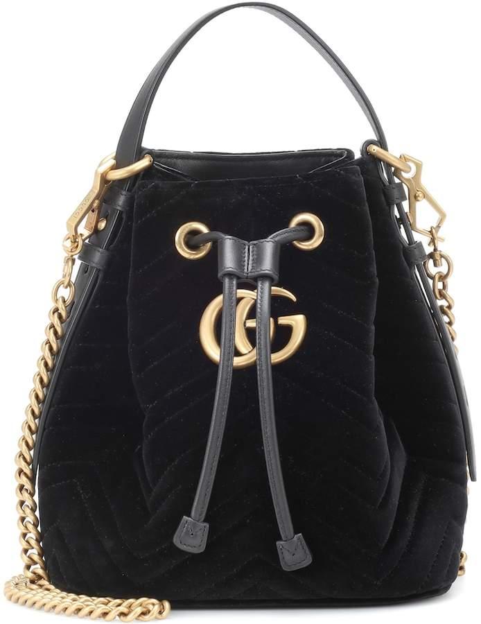 0a461c350 Gucci Marmont Velvet - ShopStyle